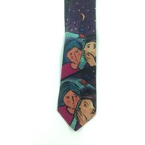 Other - Vintage The Beatles Silk Tie